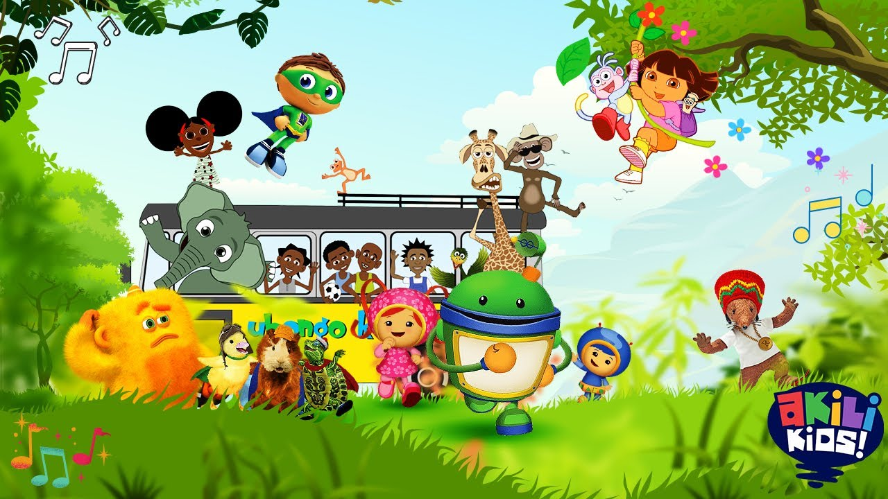 Download Sing Along With Us! | Akili Kids! | Tune In!