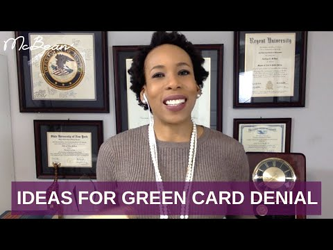 DENIED Green Card After Spouse Filed For Me; USA Immigration Lawyer (2018)