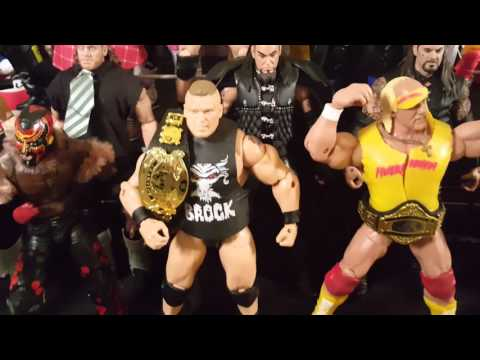 BurnoutInc's WWE Action Figure Collection Flashback and Legends Edition 2015