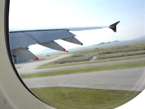 First Schedule A380 Of Singapore Airlines From HKG To SIN Take-off