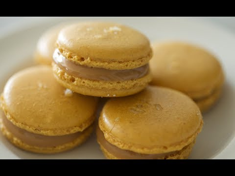 Salted Caramel Macarons | Byron Talbott