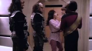 Cowards take hostages -- Klingons do not.