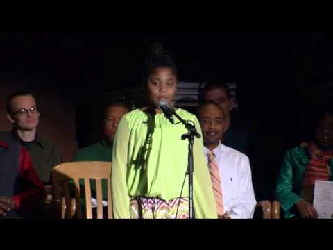 Jamiya McNeil MLK Oratory Competition- DTS Black History Chapel