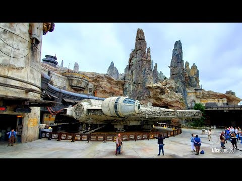 Star Wars Land Tour - Full Disneyland's Galaxy's Edge Tour