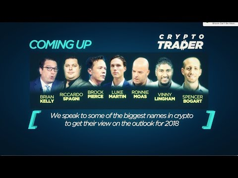 CNBC CRYPTO TRADER 2018, EP1: THE BIGGEST SHOW IN CRYPTO HISTORY!