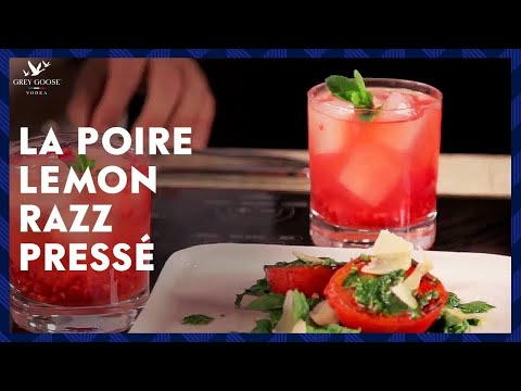 Episode 5 - GREY GOOSE La Poire Lemon Razz Pressé with Charred Tomato