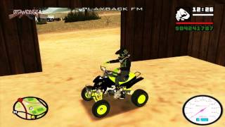 Mod Motor Bike Quad ATV By GTATRIK Dffo Dff Only No Txd GTA SA