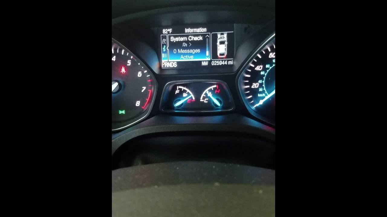 Luz De Mantenimiento Ford Escape 2015 Youtube