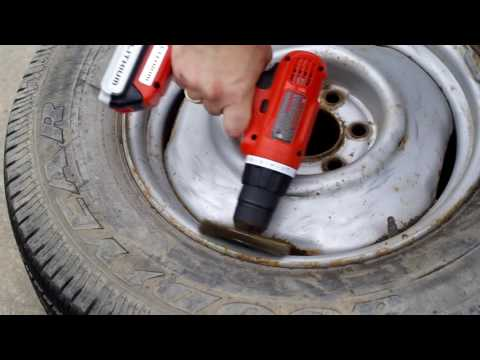 How to paint steel rims