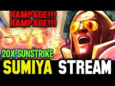 SUMIYA 20x SUNSTRIKE Double Rampage | Sumiya Invoker Stream Moment #795