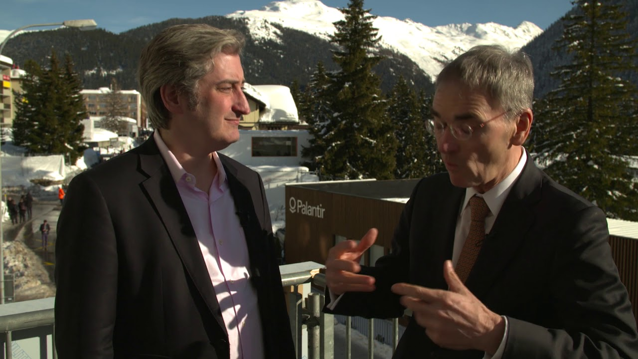 Hub Culture Davos 2018 - Greg Medcraft, OECD Directorate for Financial and Enterprise Affairs