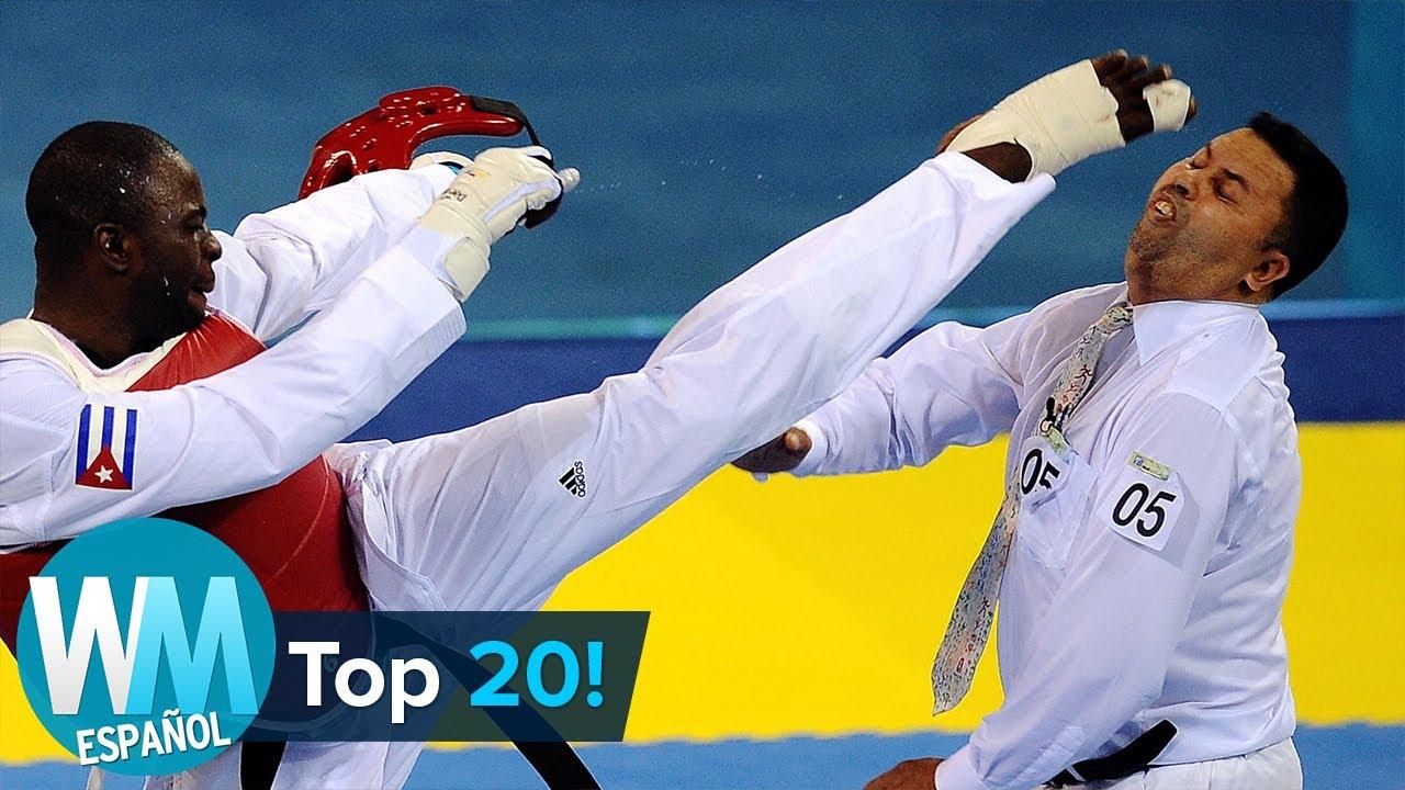 ¡Top 20 CONTROVERSIAS Olímpicas más ESCANDALOSAS de la Historia!