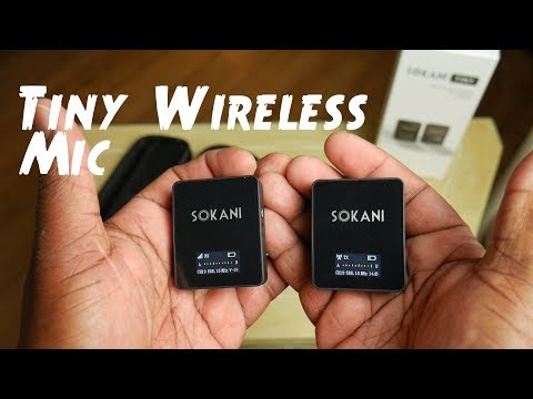 Sokani Tiny Wireless Microphone Review. Rode Wireless Go Competitor?