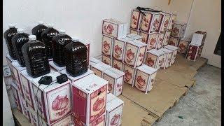 Более 20 тонн контрафактного алкоголя изъяли в Сочи
