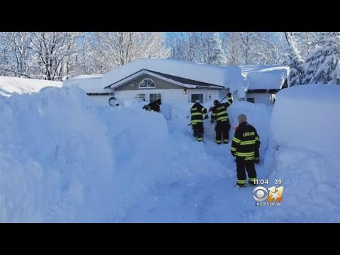 Brrr! Record Snow, Bitter Cold For Northern U.S.