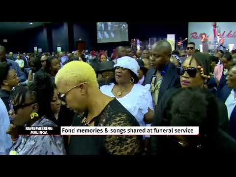 Emotional performance from Zahara at Robbie Malinga's funeral