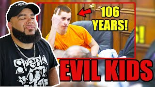 THESE KIDS ARE EVIL Top 10 KIDS Reacting to LIFE SENTENCES!