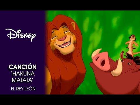 El Rey León: Canción 'Hakuna Matata'   Disney Oficial