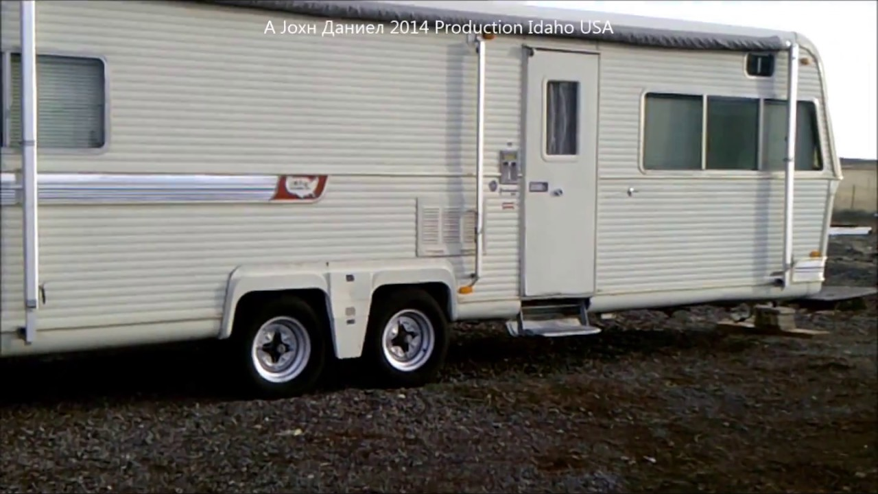 Holiday Rambler Presidential Travel Trailer For Sale
