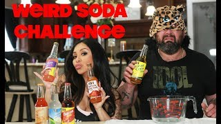 WEIRD SODA CHALLENGE | SNOOKI AND JOEY *GROSS*