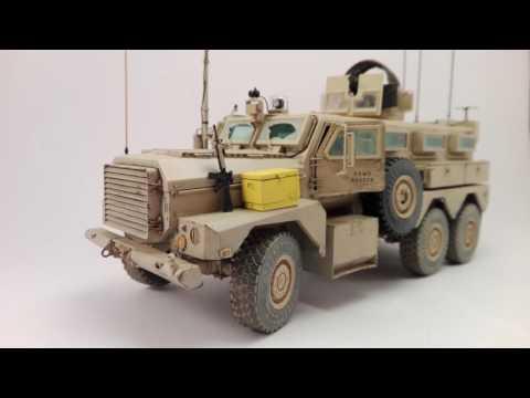 Meng 6x6 Cougar MRAP 1/35