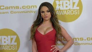 Athena Faris 2020 XBIZ Awards Red Carpet Fashion In 4K