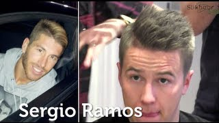 Sergio Ramos Hair style Inspiration, tutorial inspired by Spanish football player, product By Vilain