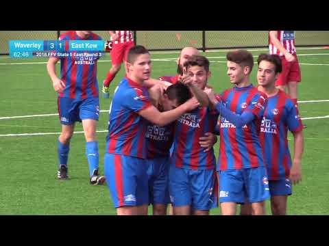 2018 FFV State  E Rd 3 - Mount Waverley City v East Kew FC