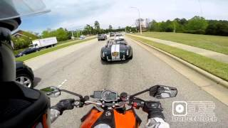 KTM Encounters Factory Five Shelby Cobra 408