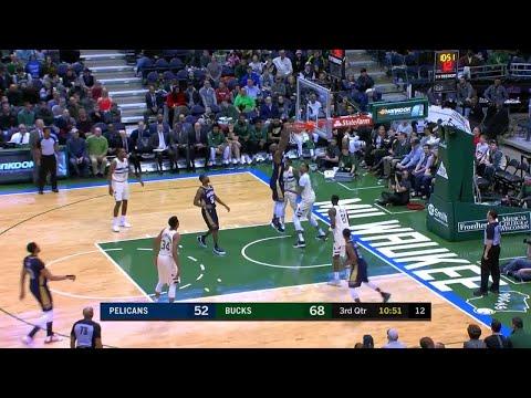 3rd Quarter, One Box Video: Milwaukee Bucks vs. New Orleans Pelicans