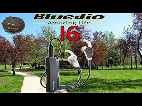 🎬AURICOLARI►Bluedio i6 Clip-On - Auricolari Bluetooth4.1 stereo headphones headset LED display (ITA)