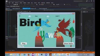 Bird in Trouble game Demo in C#