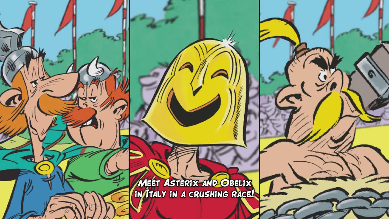Announcing the release of asterix and the chariot race youtube announcing the release of asterix and the chariot race altavistaventures Gallery