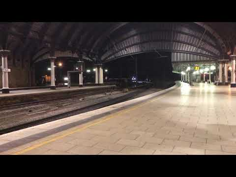 New 800023 runs through York on 5X80 Merchant Park to Doncaster Carr IEP Depot 15/09/17