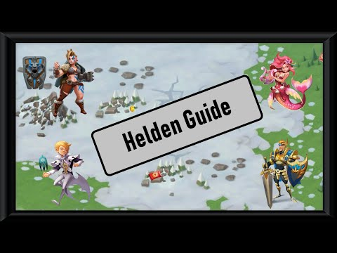 Lords Mobile Guide - Top Helden Für Kolosseum/Angriff/Mauer/ Monsterjagd! F2p + P2w