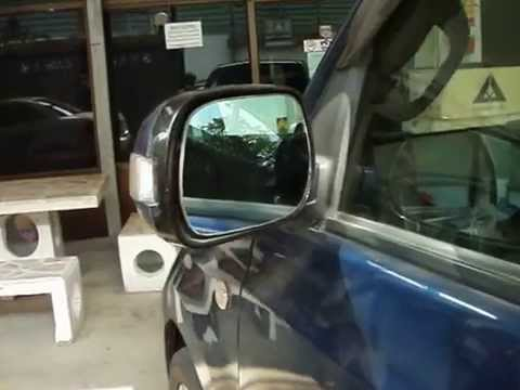 TURN SIGNAL BLUE MIRROR WITH LED TOYOTA BB