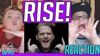 RISE (Katy Perry Cover) by SUPERFRUIT, Mary Lambert, Brian Justin Crum, Mario Jose REACTION!! 🔥