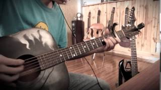 The Islander - [ Nightwish ] Fingerstyle Acoustic Guitar Solo Cover