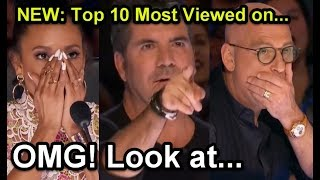 1 new top 10 most viewed americas got talent auditions