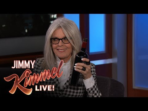 Jimmy Kimmel's FULL  with Diane Keaton
