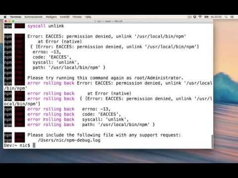 Install Node JS NPM