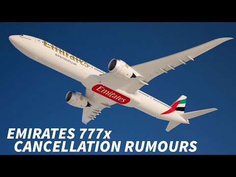 EMIRATES threaten to CANCEL ORDER for the 777x