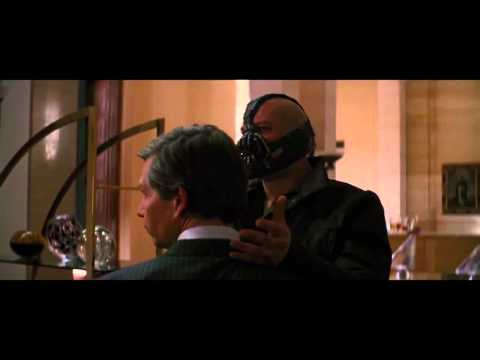 The Dark Knight Rises Outtakes - Bane Derps