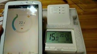 Удаленное управление отоплением со смартфона. Интернет термостат Poer за 50$ Обзор