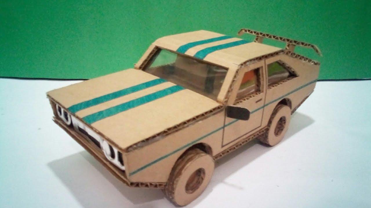 Carro De Papelão Mustang Youtube
