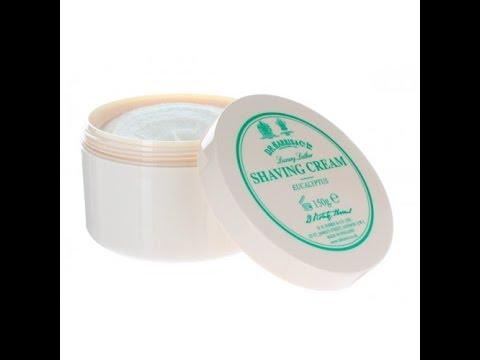 D R Harris Eucalyptus Shaving Cream WOW!!!!