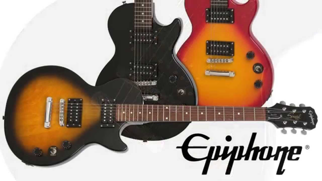 the epiphone les paul special ii youtube. Black Bedroom Furniture Sets. Home Design Ideas