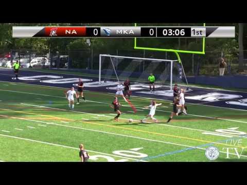 MKA vs Newark Academy - Varsity Girls Soccer 9/21/2016