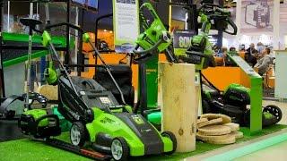 Садовая техника будущего на Mitex 2015. Самое интересное на выставке.