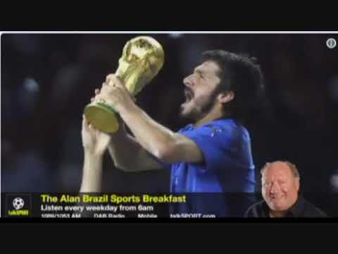 Alan Brazil Hears Gazza - Gattuso Tale From Ally McCoist talkSPORT